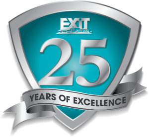 EXIT-Realty-25-Years-Logo